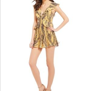 Keepsake light up floral romper